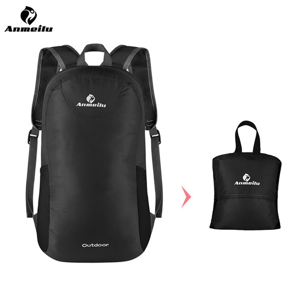ANMEILU Outdoor Sport Bag 15L Foldable Backpack Waterproof Breathable Camping Bolsa Cycling Backpack Travel Bag Hiking