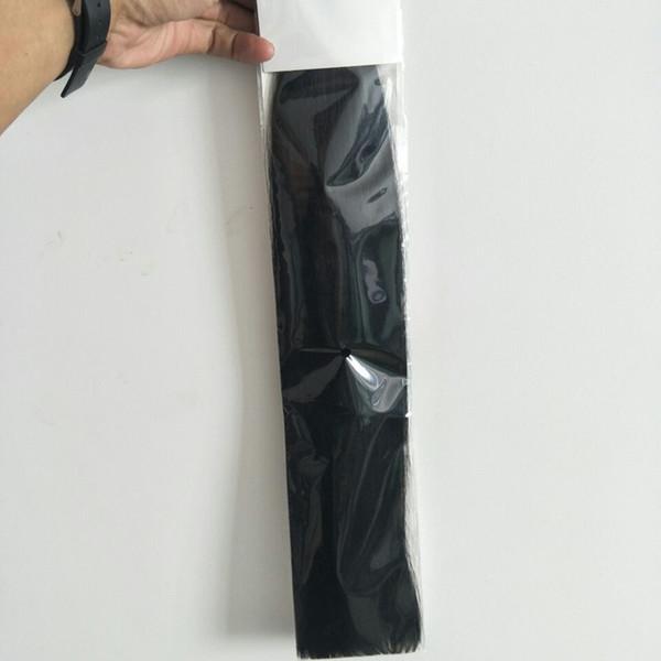 Indian Silk Straight 4 Bundles Double Drawn Virgin Virgen del pelo humano Extensiones de cabello baratas, DHL libre