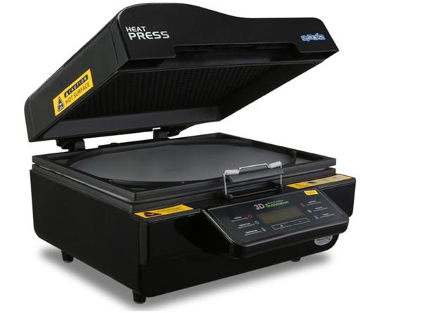 Fast Shipping 3D Vacuum Sublimation Heat Press Transfer Machine Printer Phone Case/Plate/Mug Black