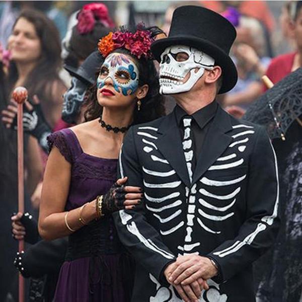 günstig kaufen schöner Stil Großhandelsverkauf Großhandel Film 007 JAMES BOND Spectre Maske Schädel Skelett Scary  Halloween Karneval Cosplay Kostüm Masquerade Ghost Party Harz Masken Von  Homesets, ...