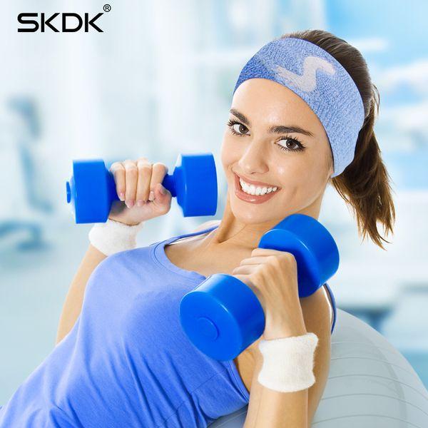 Elastic Polyester Cotton Sweat Headband 1pc Yoga Running Fitness Sweatband Headband Hair Bands Head Sports Safety Sweat Band