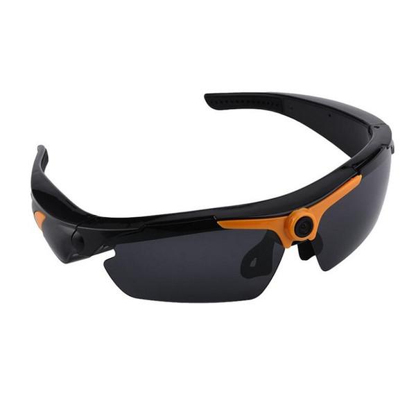 Gafas de sol del registrador de Digitaces del control remoto de la cámara al aire libre de los vidrios video de HD 1080P