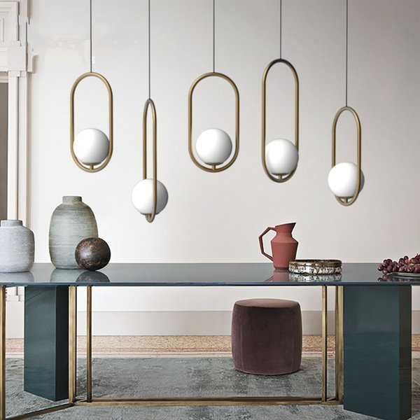 Compre Vintage Loft Lámparas Colgantes Luces Comedor Sala De Estar ...