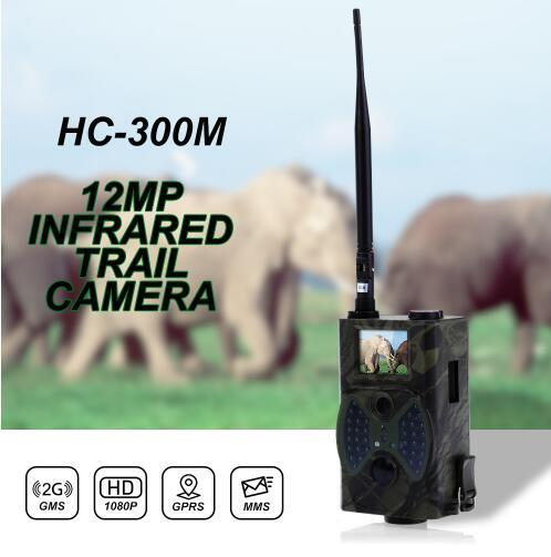Hunting camera 12 million pixel digital camera scanning remote control 2G MMS email GPRS GSM 940NM infrared and night vision