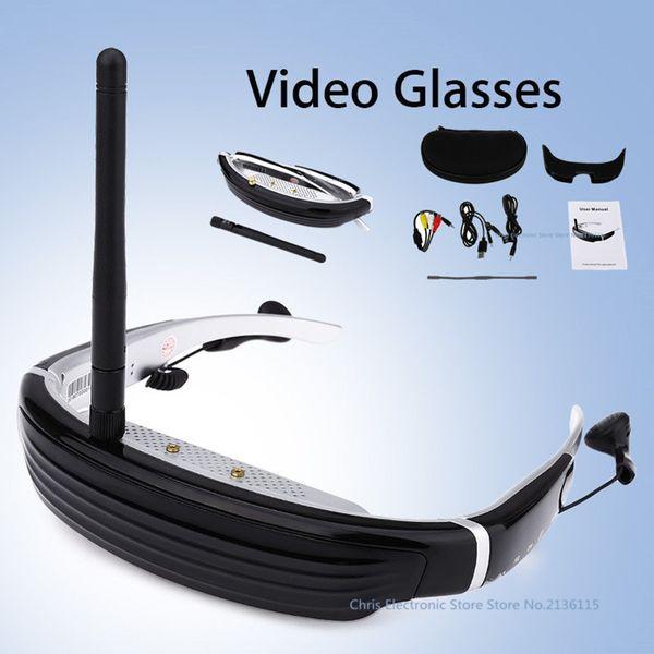 Sporch F640 5.8G FPV 62 pulgadas 4: 3 Pantalla LCD 3D Video Glasses para RC Drone 3D lentes ópticas virtuales para computadora / TV