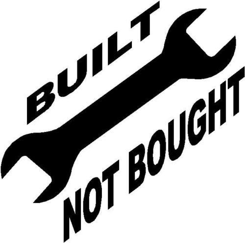 Built Not To Buy Haoen Car Stickers Vinyl Car Packaging Animal Body Decals Quotes