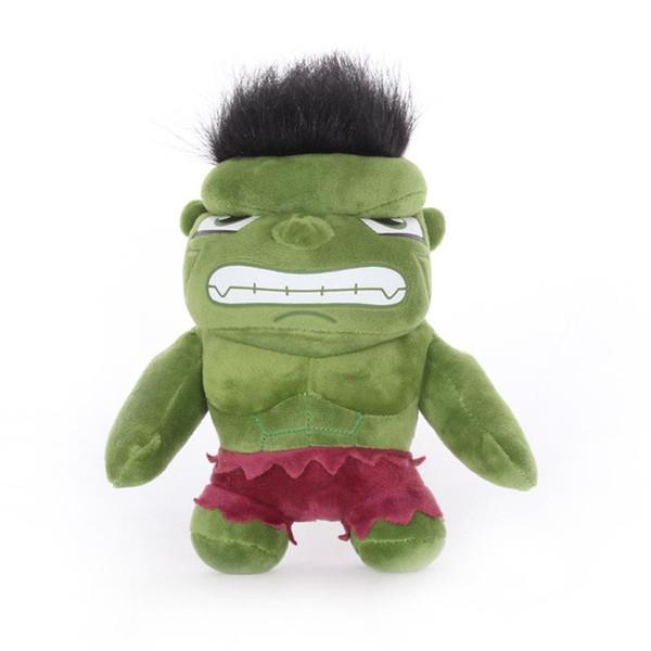 Cartoon Hulk Plush Doll Toys 20CM 8 Inch Hulk Stuffed Anime Figure Toys for Kids Home Furnishing Dolls T413