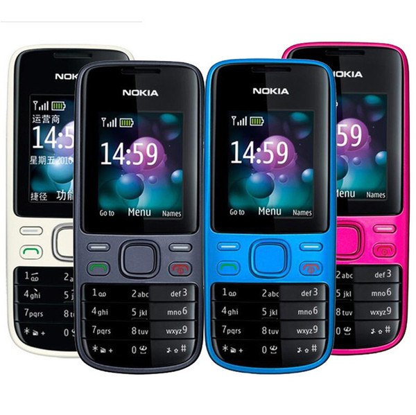 Refurbished Original Nokia 2690 GSM Unlocked Bar Mobile Phone 1.8 inch Bluetooth Camera Video FM Cheap Phone Free DHL 10pcs