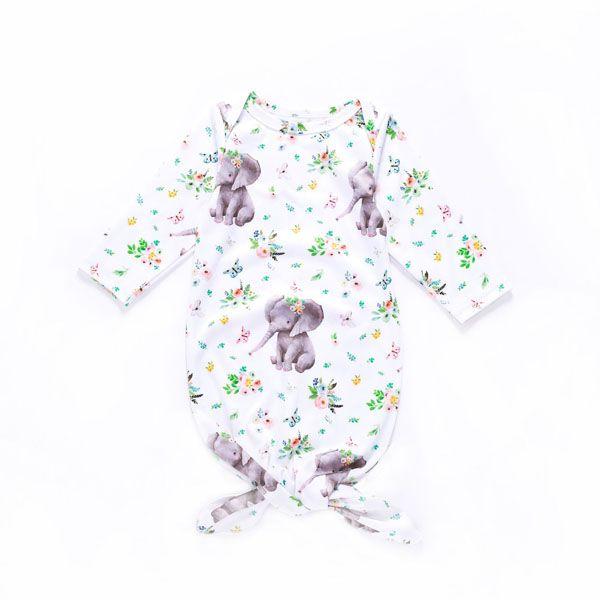 best selling Ins New Infant Baby Cartoon Sloth Elephant Swaddle Sleeping Bags Newborn Baby Boys Girls Baby Cotton Cocoon Sleep Sack T14086