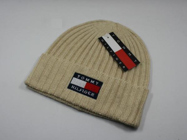 Neue Winter Mützen Gestrickte Wolle Warme Hüte Mode Caps Hut Für Männer Frauen Cap