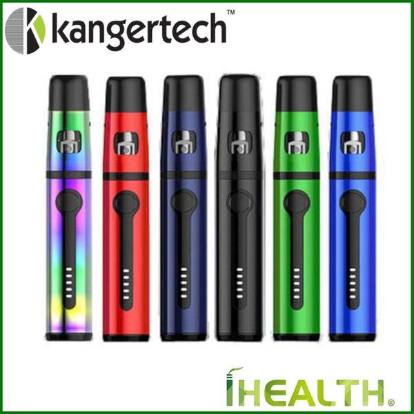 Kanger All-in-One K-Pin Mini Starter Kit mit 2ml Tank 1500mAh eingebauter Batterie 2 Stück SSOCC NiCr 0,5 Ohm