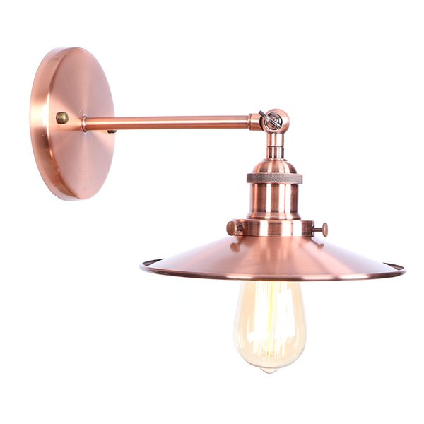 Factory Wholesale Loft Industrial Wall lamp Fixture Vintage Edison bulb lamparas de pared lights lampen sconce