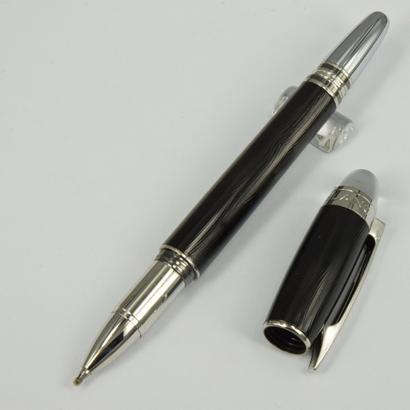 caneta de rolo preto onda