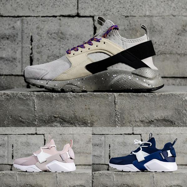 2018 Nouveau Design Huarache 4 IV Chaussures De Course Pour Femmes Hommes, Léger Huaraches Sneakers Sport Athlétique En Plein Air Huarache Chaussures 36-44