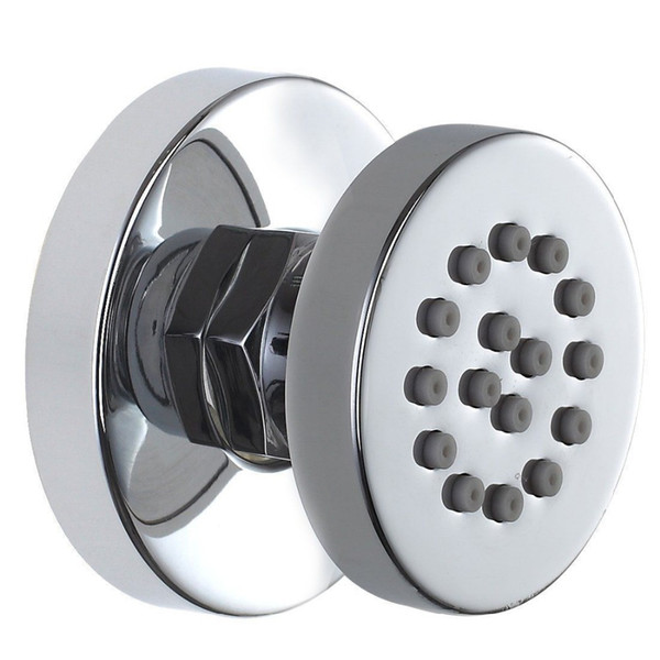 top popular Brass Chrome Adjustable Round Massage Spa Body Jet Side Sprayer Bathroom Shower 2019