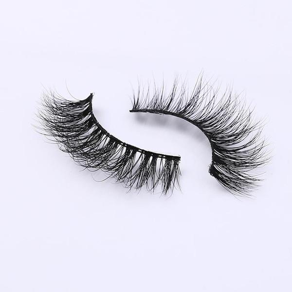 Mink Lashes Fur Friendly Styles 3d Mink Lashes Crisscross False Eyelashes Fashion Cilios Mink for Makeup Individual Strip A10