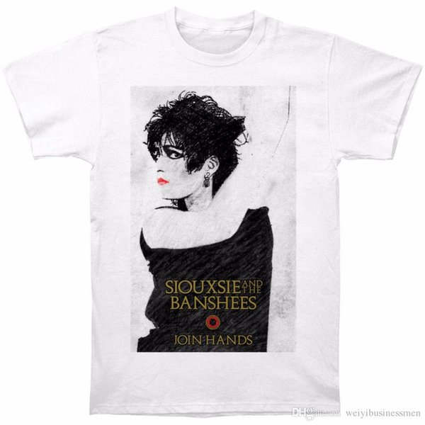 T Shirt 2018 New Graphic Men Siouxsie And The Banshees Men's Join Hands Slim Fit T-shirt Size S To 3XL O-Neck Short-Sleeve Tees