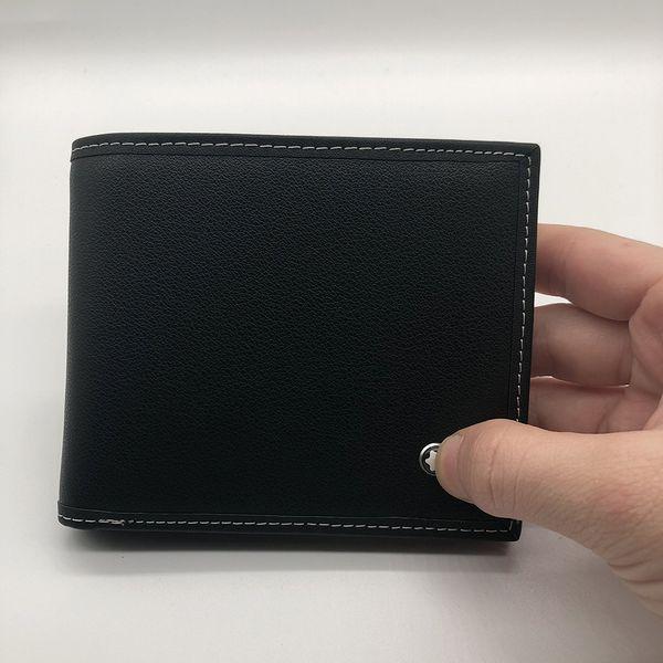 Großhandel Luxus Herrenmode Leder Brieftasche Mb Kurzer Clip Artisan Designer Kartenetui Mt Visitenkartenetui Qualität M B Hot Geldbörse Halter