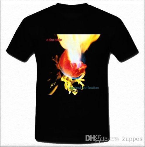 2018 Estilo Verão T Camisa Adorável Contra Perfeição Shoegazing Band o jesus e mary cadeia T-shirt