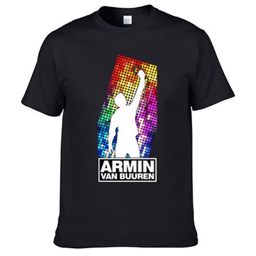 T-shirt Armin van Buuren Alibi AVB DJ t-shirt imprimé
