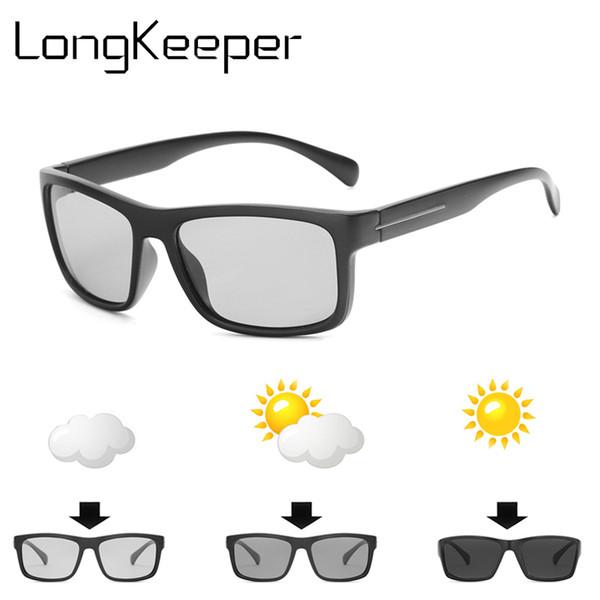 Driving Photochromic Sunglasses Men Sunglasses Polarized Sun glasses Driver Goggles Driving Anti-glare lentes de sol hombre 2018