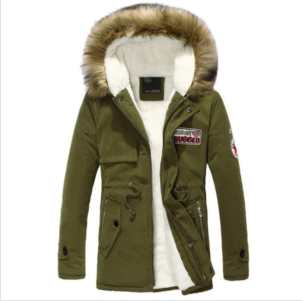 Herren Warm S Mens Mail Outwear Verkauf Winter Ente Daunenmantel Daunenjacke Jacke Paket Heißer Mode Von Parka Kapuze Dicke Großhandel Pelzkragen 8nPk0wO