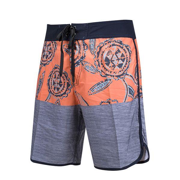 top popular Bermudas Surf Shorts Summer Fashion Quick Dry Spandex Boardshorts Beach Swim Short Pants Elastic Mix Orders 2019