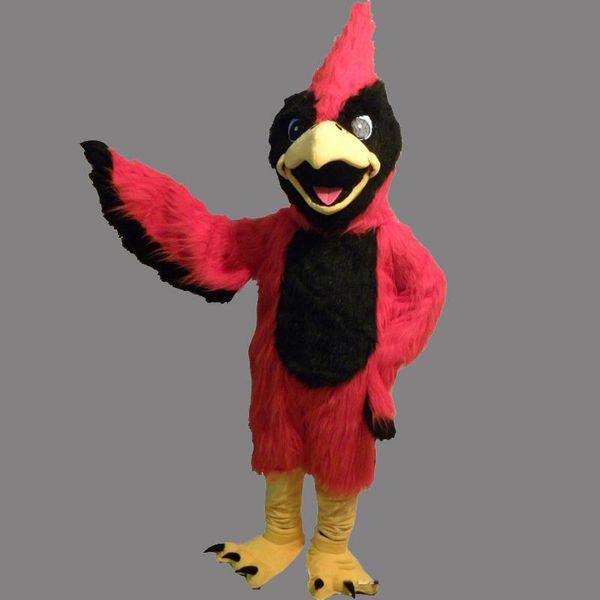 2018 высокое качество взрослых размер красные птицы талисман плюшевые птицы пользовательские необычные костюм комплект талисман тема необычные платья карнива костюм