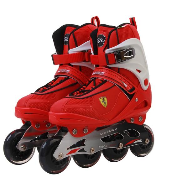 De boa qualidade Sapatas profissionais da patinagem de rolo dos patins Inline para deslizar a patinagem