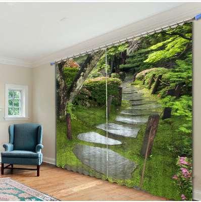 Acheter Paysage Paysages 3d Rideaux Pour Salon Fenêtre Traitements Rideaux  Moderne Pour Beding Room Rideau Haute Précision Shade De $67.44 Du ...