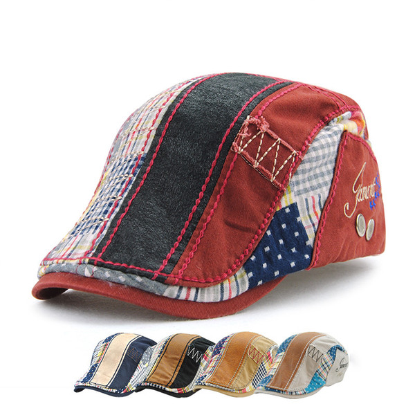 5 Colors Embroidery Cotton Berets Baseball Caps Snapbacks Casquette Designer Hat Dad Hat Bucket Fitted Hat Brand Hats