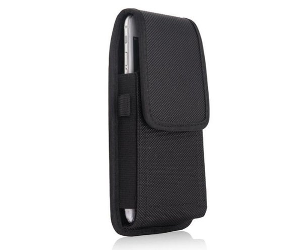 Para iphone x 7 8 plus universal esporte coldre de couro de nylon cinto clipe de telefone case capa bolsa para samsung huawei s9 plus 2019 novo