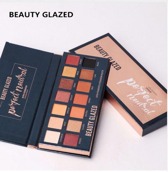 Matte Eyeshadow Pallete 14 Color Glitter Eye shadow Make up palette Warm Luminous Beautiful makeup pallete