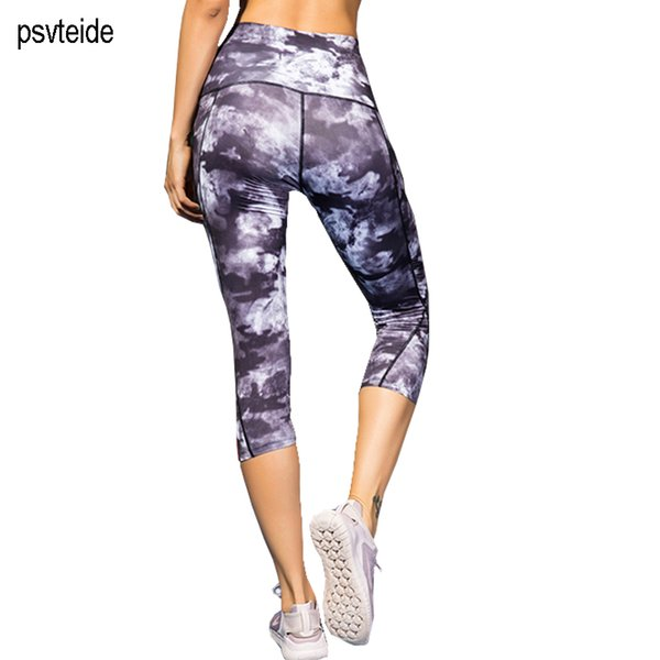 Womens Running Pants Tights Jogging Pants Running Trousers Fitness Leggings Women Compression Lady's High Waist Yogapants