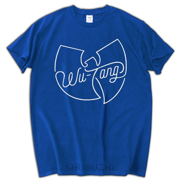 men black tee shirt summer style hip hop t shirts fashion brand tops wu tang tops