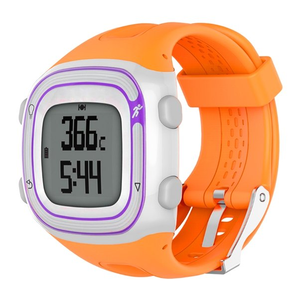 EY Silicone Bracelet Strap Wristband For Garmin Forerunner10/15 Smart Watch Female