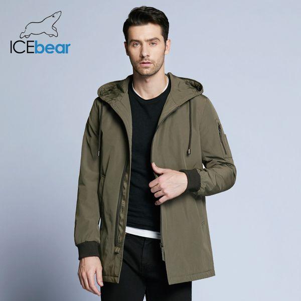 { Seckill } 2018 new autumn men's coat clothing fashion man jacket diagonal placket hooded design BMWC18031D