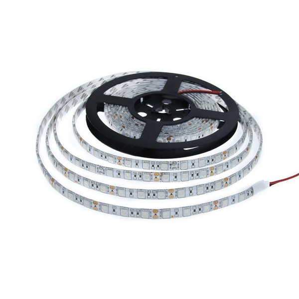 5m/lot Waterproof LED Strip UV Ultraviolet purple/Pink DC12V 5050 300led Flexible LED Light
