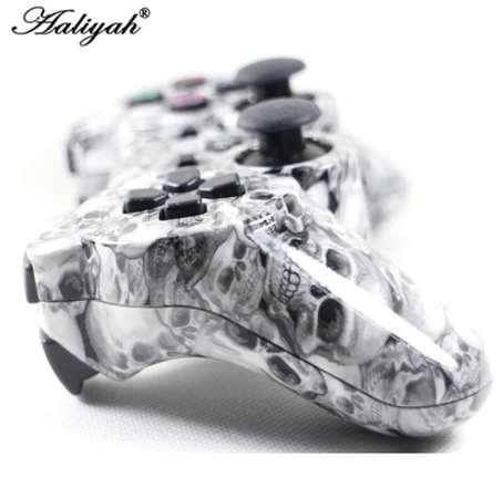 Aaliyah camuflagem sem fio bluetooth controlador de jogo sixaxis joystick gamepad para sony playstation 3 ps3 5 cores