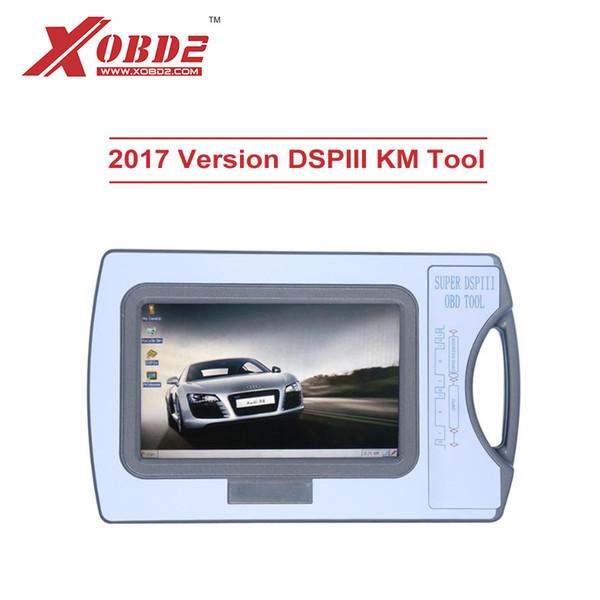 2017 DSP III KM Tool DSP3 DSPIII Dispositivo de corrección del odómetro para 2010-2017 Años Nuevos modelos por OBD2