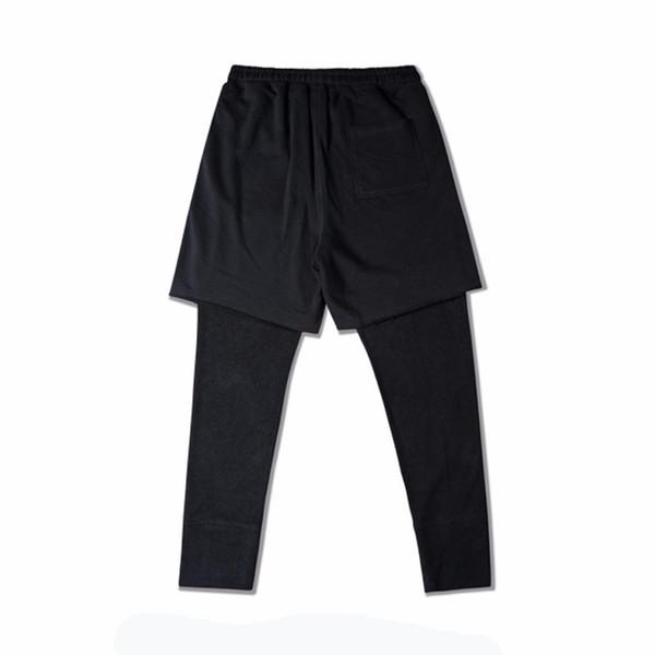 Midweight Fashon Spor Uzun Pantolon Erkekler Rahat Sweatpants Baggy Jogging Yapan Pantolon Moda Gömme Dipleri Streetwear Hiphop Yeni