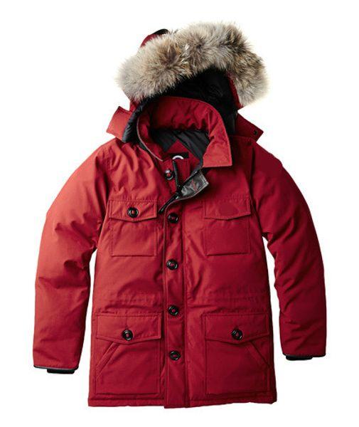 Men/Women Parkas WINTER CANADA BANFF-1 GOOSE Down & Parkas WITH HOOD/Snowdome jacket Brand Real Raccoon Collar White Duck Outerwear & Coats