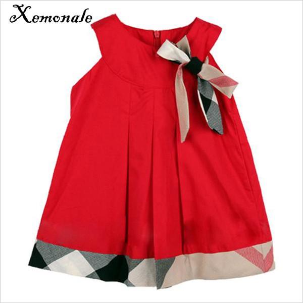 Xemonale Mode Baby Mädchen Neue Sommer Polka Party Kleid Prinzessin Geburtstag Kleid Für Baby Infantil Vestido 0-2 Jahre