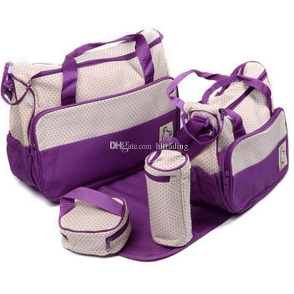 Borse mummia impermeabile borsa a tracolla borsa grande capacità zaino da viaggio pannolino cambia pannolino pad bag organizer bambino infermieristica borsa C4951