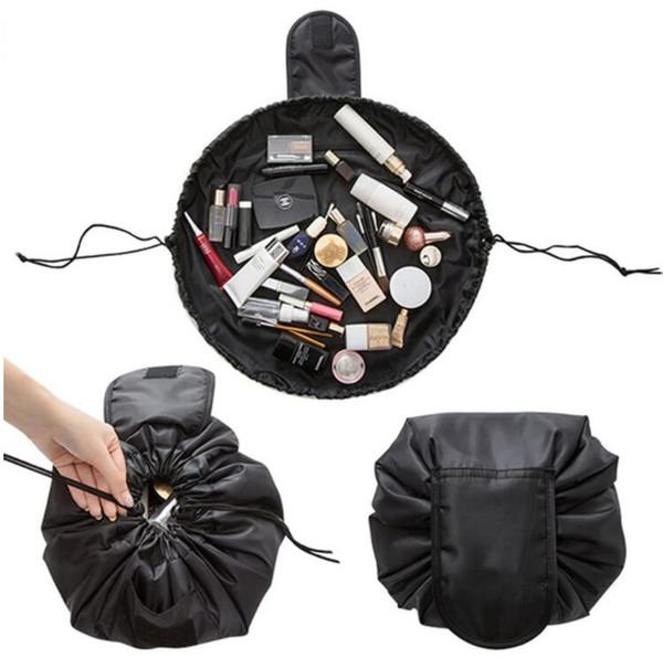 Wasserdichte Reise-Make-upbürsten-kosmetischer Kulturbeutel-Fall-Wäsche-Organisator-Speicher-faltbarer Beutel-Portable Drawstring-Beutel-Werkzeug