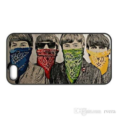 Free Shipping Phone Case Banksy The Beatles Drawing cover for iPhone X XS XR MAX 6 6s 7 8 Plus samsung galaxy S6 S7 EDGE S8 S9 PLUS note 8 9