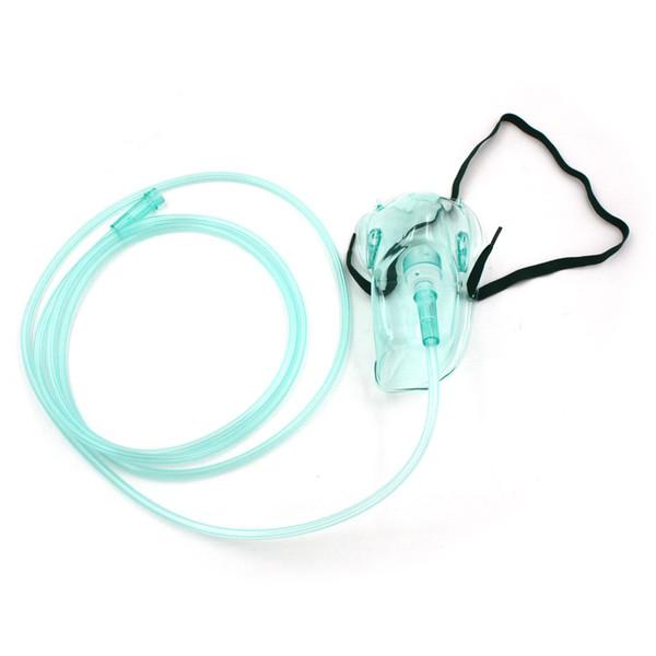 Sağlık Tıbbi Oksijen Yüz Maskesi Ile Tüp Kafur Solunum Oksijen Kliniği Evde Ücretsiz Nakliye Için
