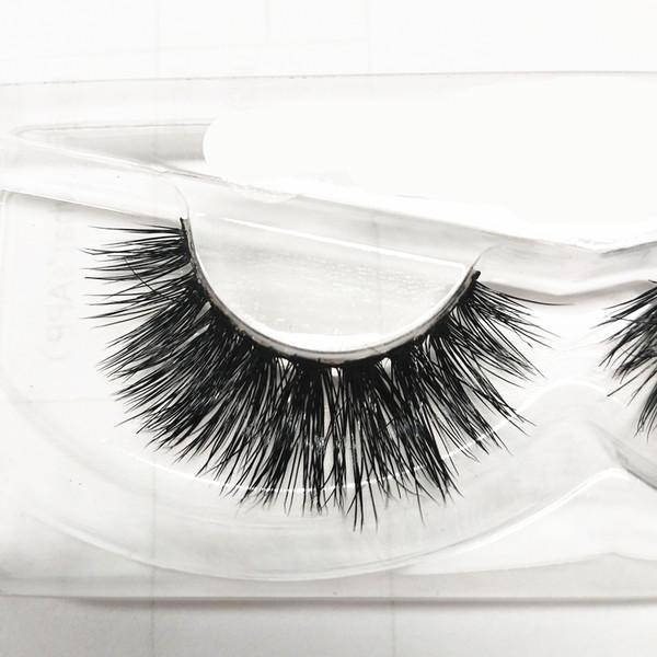 seashine 3d premium mink fur strip mink eyelash real 3D mink eyelashes false lashes free shipping