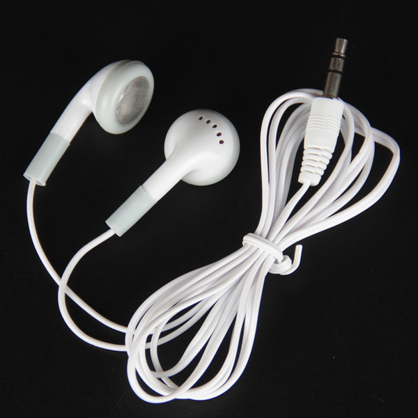 top popular Fashion in-ear Earphone Headphone Earbuds 3.5mm For Cell phone iphone Samsung Mp3 Mp4 Mini HD headset Free Shipping 2021