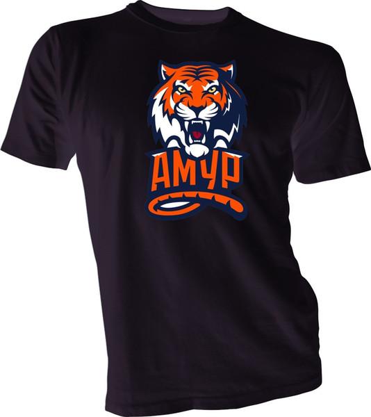 Amour Khabarovsk KHL Hockey Professionnel Russe T-Shirt Noir NOUVELLE Russie Hommes Drôle livraison gratuite Unisexe Casual cadeau